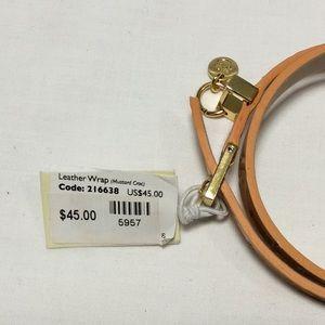 Spartina 449 Jewelry - Leather Wrap Bracelet